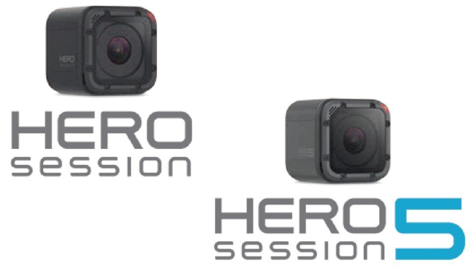 Gopro Hero5 Session 比較